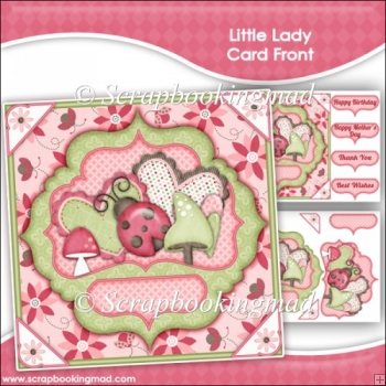 Little Lady Card Front