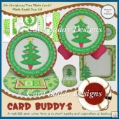 Oh Christmas Tree Plate Card/Plate Easel Duo Kit