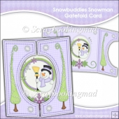 Snowbuddies Snowman Gatefold Card