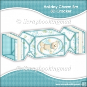 Holiday Charm Brrr 3D Cracker Gift Box