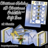 Christmas Holiday Christmas Cracker Gift Box
