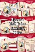 Special Half Price Bundle - Snowflake Penguin Sets