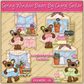 EXCLUSIVE Spring Window Bears Collection
