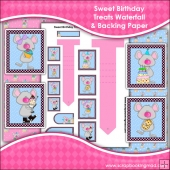 Sweet Birthday Treats Waterfall Download