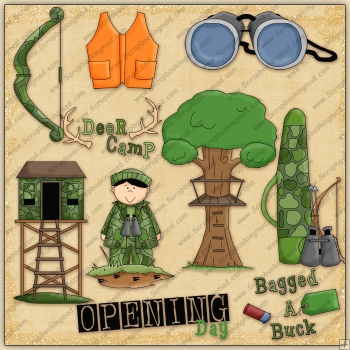 Open Season ClipArt Graphic Collection