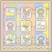 Little Baby Daisy Download Collection 108 coordinating Items