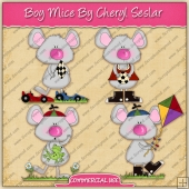 Boy Mice Graphic Collection - REF - CS