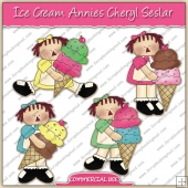 Ice cream Annies ClipArt Graphic Collection - REF - CS