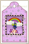 Buggylicious (3) Decorative Tag - REF_T67