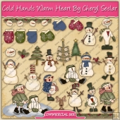 Cold Hands Warm Heart Graphic Collection - REF - CS