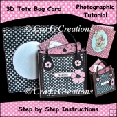 3D Tote Bag Card Photographic Tutorial