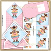 Spring Bear Spring Card PDF Download