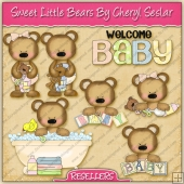RESALE ART WORK - Sweet Baby Bears Collection