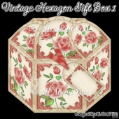 Vintage Hexagon Gift Box 1