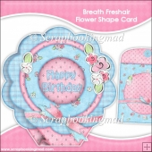 Breath Freshair Flower Shape Card