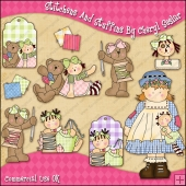 Stitchens And Stuffins ClipArt Graphic Collection
