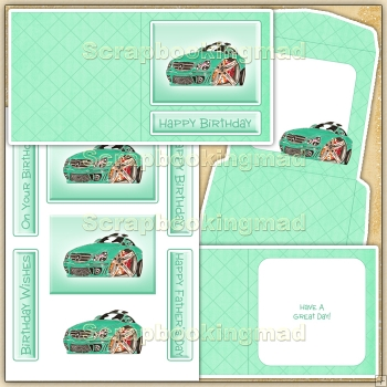 Cartoon Car Card (2) PDF Download