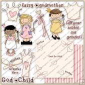 Fairy Godmother ClipArt Graphic Collection