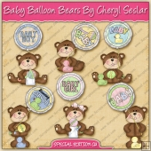 Baby Balloon Bears Collection - SPECIAL EDITION