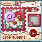 Bloomers Stamp Edged Fold Card Kit