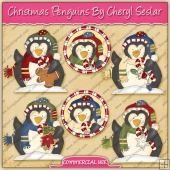 Christmas Penguins Graphic Collection - REF - CS