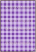 A4 Backing Papers Single - Purple Gingham - REF_BP_154