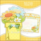 Bees Knees Flower Pot Card