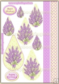 Lavender PDF Teardrop Pyramage Download