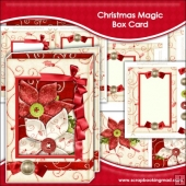 Christmas Magic Box Card
