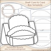 Large Shelf Card & Card Box Template Commercial Use OK
