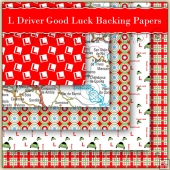 5 Good Luck Learner Driver Backing Papers Download (C138)