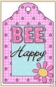 Bee-Cause Your Are Special Gift Tag - REF_T607
