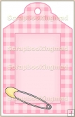 Baby Pink Tag - REF_T404