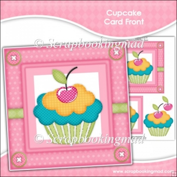 Cupcake Card Front