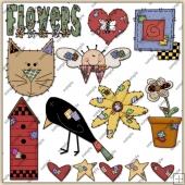 Stitches ClipArt Graphic Collection 1