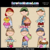 Dougys Sweet Treats ClipArt Collection