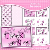 Thank You Decoupage Download