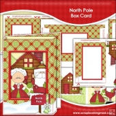 North Pole Box Card