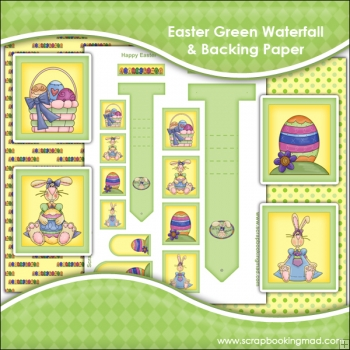Green Easter Waterfall Download