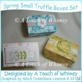 Spring Small Truffel Boxes Set