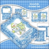 Snowfolk Notelet Set