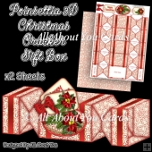 Poinsettia Christmas Cracker Gift Box
