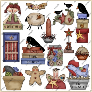 Prim ClipArt Graphic Collection 1