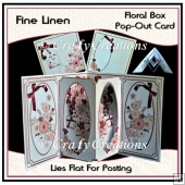 Fine Linen - Floral Box Pop Out