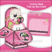 Yummy Bear Pop Up Box Card