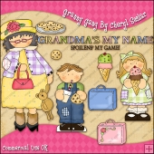 Grannys Gang ClipArt Graphic Collection
