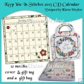 Keep You In Stitches 2013 CD Calendar & Gift Bag