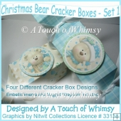 Winter Bear Cracker Boxes - Set 1