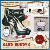 Fashion Accessories Shaped Fold Card Kit