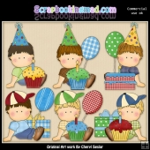 Oscars Birthday ClipArt Collection